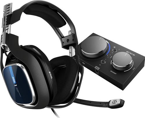Astro A40 TR Schwarz + MixAmp Pro TR PS4 Main Image