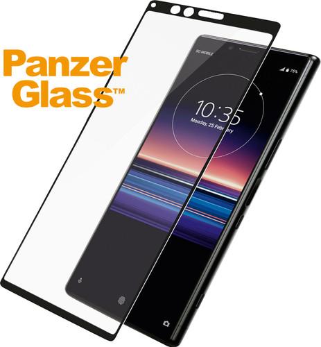 PanzerGlass Sony Xperia 1 Displayschutzglas Schwarz Main Image