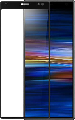 Azuri gebogenes gehärtetes Glas Sony Xperia 10 Displayschutzglas Schwarz Main Image