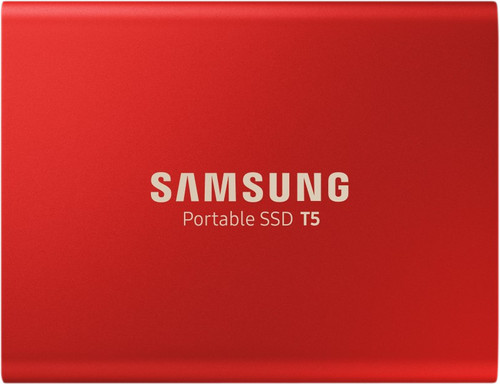 Samsung Portable SSD T5, 500 GB, Rot Main Image