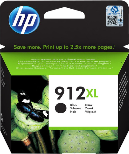 HP 912XL Patrone Schwarz Main Image