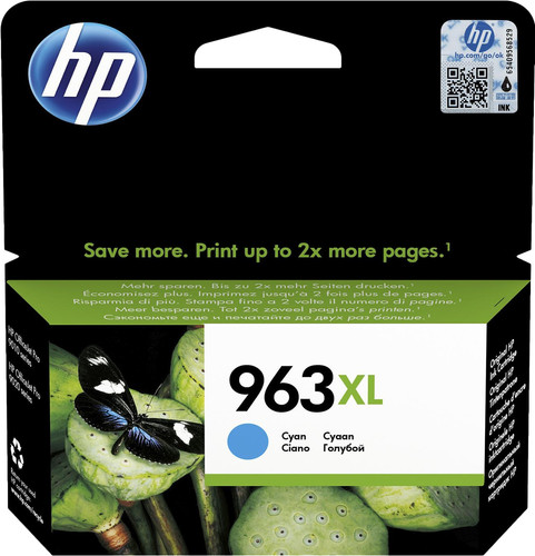 HP 963XL Cartridge Cyan Main Image