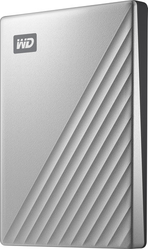 WD My Passport Ultra for Mac 4 TB Silver Main Image