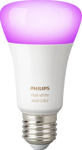 Philips Hue White & Color E27 Einzellampe Bluetooth Main Image