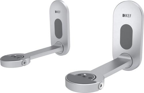 KEF B1 Wandhalterung Silber pro Paar Main Image