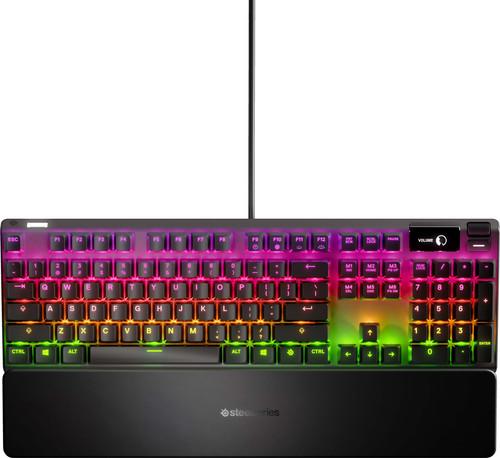 SteelSeries Apex 7 Red Gaming Tastatur QWERTZ Main Image