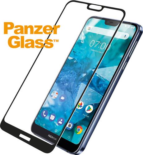 PanzerGlass Nokia 7.1 Displayschutzglas schwarz Main Image