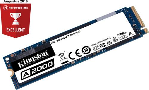 Kingston A2000 M.2 NVMe SSD, 1 TB Main Image