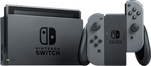 Nintendo Switch (Upgrade 2019) Grau Main Image