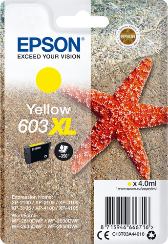 Epson 603XL Patrone Gelb Main Image