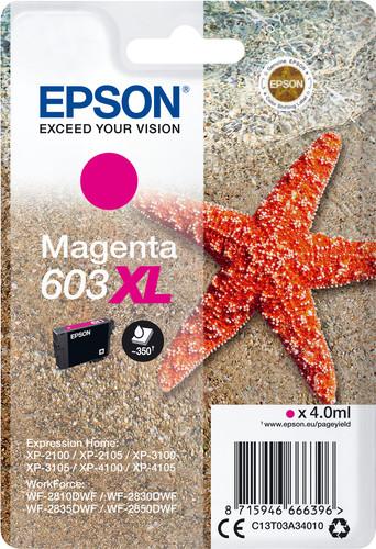 Epson 603XL Patrone Magenta Main Image