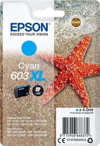 Epson 603XL Cartridge Cyan Main Image