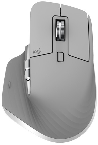 Logitech MX Master 3 Kabellose Maus Grau Main Image