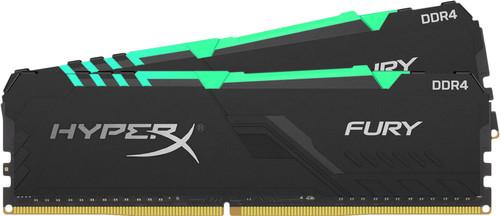 Kingston HyperX Fury 16GB DDR4 DIMM 2.400 MHz (2x8GB) Main Image
