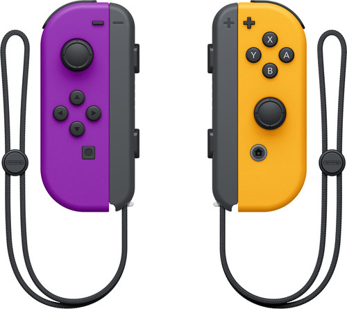 Nintendo Switch Joy-Con Set, Neonlila/Neonorange Main Image