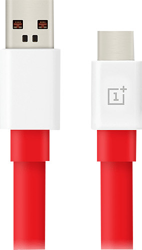 OnePlus Warp Charge USB-A nach USB-C-Kabel 1 m Kunststoff Rot Main Image
