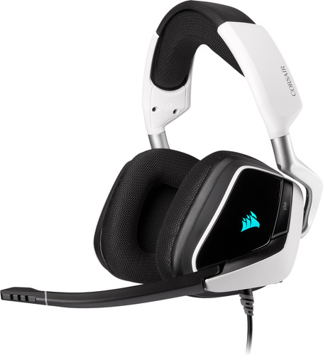 Gaming-Headset Corsair Void RGB Elite USB PC Schwarz/Weiß Main Image