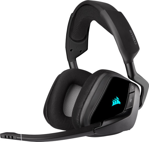 Kabelloses Gaming-Headset Corsair Void RGB Elite PC/PS5 Carbon/Schwarz Main Image
