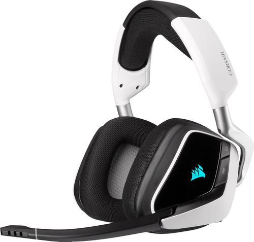 Corsair Void RGB Elite Kabelloses Gaming-Headset PC/PS4/PS5 Schwarz/Weiß Main Image