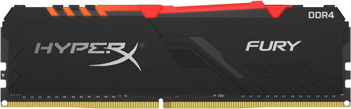 Kingston HyperX Fury RGB 16GB DDR4 DIMM 2.666 MHz CL16 (1x16 GB) Main Image