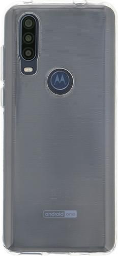 Nur für den Fall Soft TPU Motorola One Action Rückseite transparent Main Image