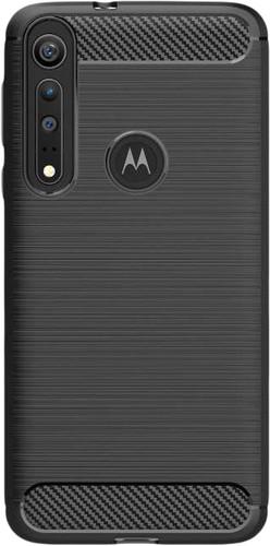 Nur für den Fall Robustes TPU Motorola One Macro Back Cover Schwarz Main Image