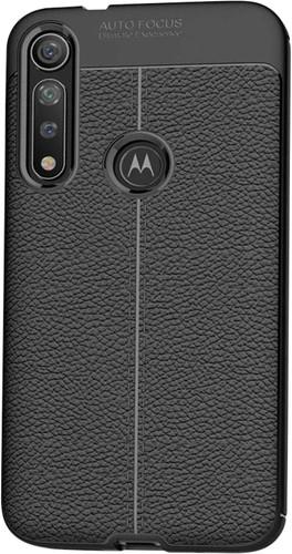Nur für den Fall Soft Design TPU Motorola Moto G8 Plus Rückseite Schwarz Main Image