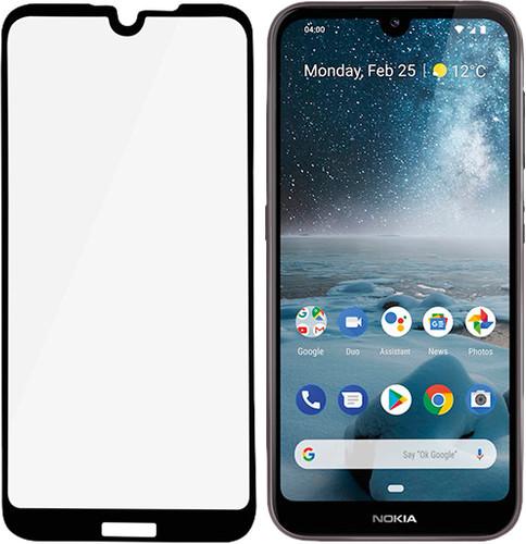 PanzerGlass Fall freundlich Nokia 4.2 Displayschutzfolie Glas Schwarz Main Image