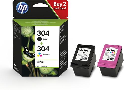HP 304 Cartridges Combo Pack Main Image