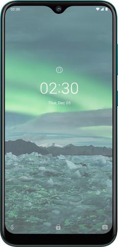 Azuri Nokia 2.3 Displayschutzglas Schwarz Main Image