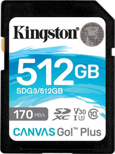 Kingston Canvas Go Plus, 512 GB Main Image