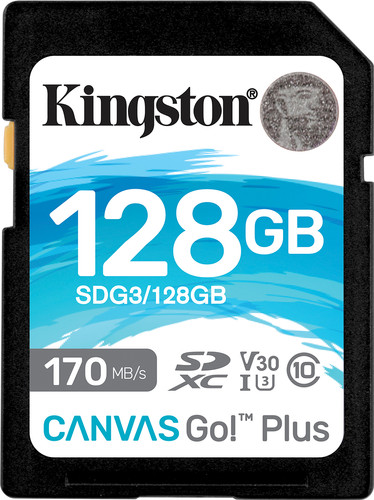 Kingston Canvas Go Plus, 128 GB Main Image