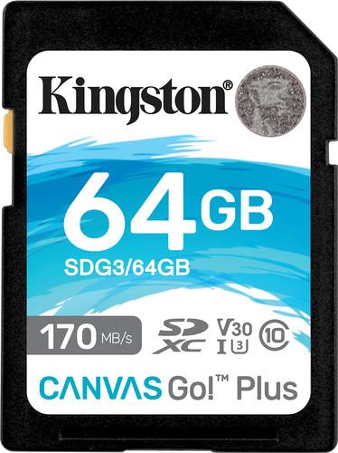 Kingston Canvas Go Plus, 64 GB Main Image
