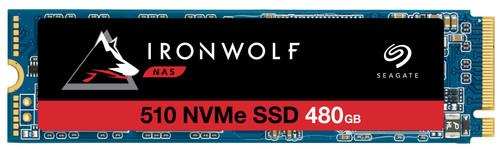 Seagate IronWolf 510 NVMe M.2 NAS SSD, 480 GB Main Image