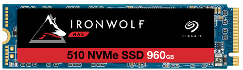 Seagate IronWolf 510 NVMe M.2 NAS SSD, 960 GB Main Image