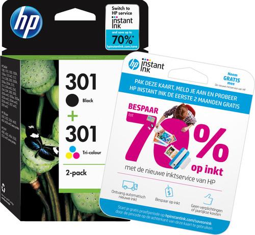 HP 301 Cartridges Combo Pack Main Image