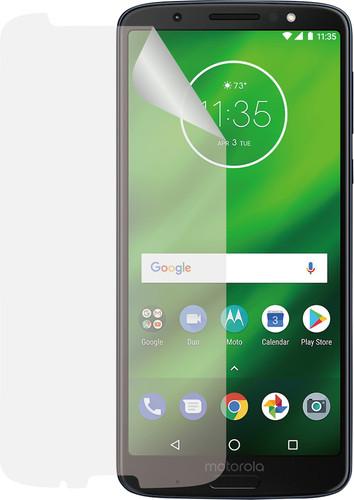 Azuri Motorola Moto G6 Displayschutzfolie Kunststoff Duo Pack Main Image