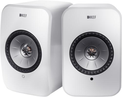 KEF LSX Wireless Stereo System Weiß Main Image