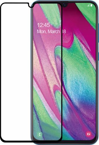 Azuri gehärtetes Glas Samsung Galaxy A40 Displayschutzglas Schwarz Main Image