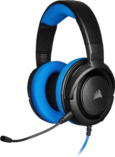 Corsair HS35 Stereo Gaming-Headset Blau Main Image