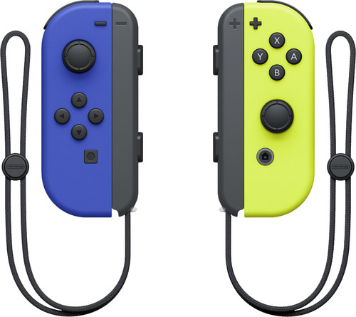 Nintendo Switch Joy-Con Set, Blau/Neongelb Main Image