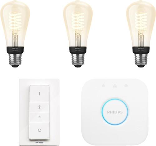 Philips Hue Glühfadenlampe White Edison E27 Bluetooth Starterpaket Main Image