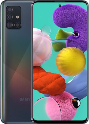 Samsung Galaxy A51 128 GB Schwarz Main Image