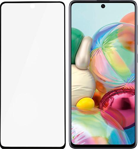 PanzerGlass Fall freundlich Samsung Galaxy A71 Displayschutzfolie Schwarzes Glas Main Image
