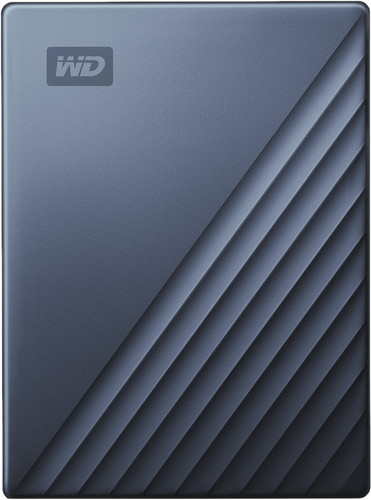 WD My Passport für Mac 4 TB Typ C Blau Main Image