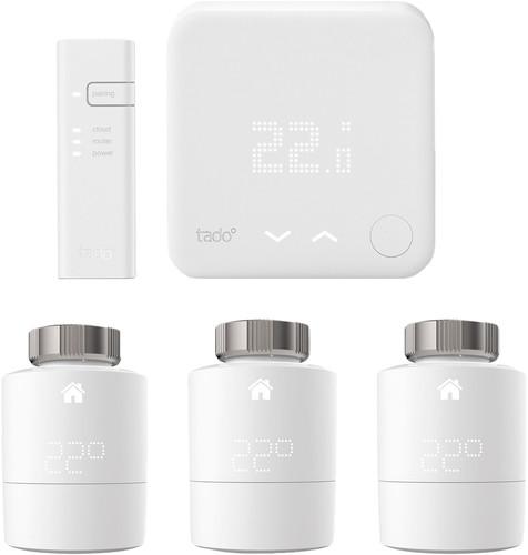 Tado Smart Thermostat V3 + Starterpaket + 3 Heizkörperventile Main Image