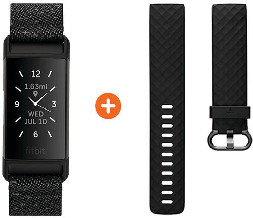Fitbit Charge 4 Sonderausgabe Granit + Extra Kunststoffarmband Main Image