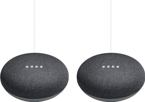 Google Nest Mini Grau Duo Pack Main Image