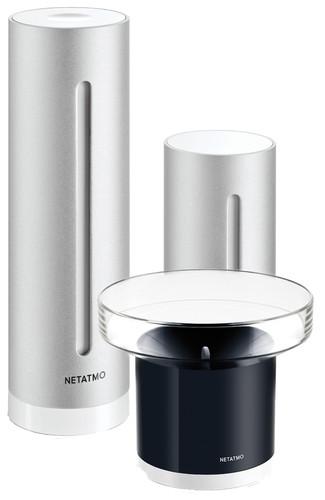 Netatmo Smart Wetterstation + Regenmesser Main Image