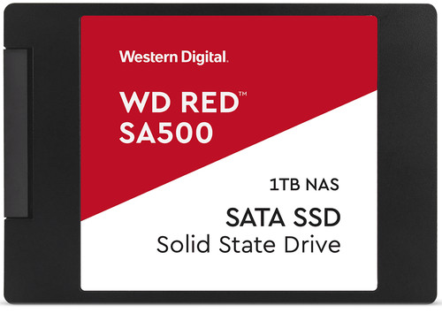 WD Red SA500 NAS, 2,5 Zoll SSD, 1 TB Main Image